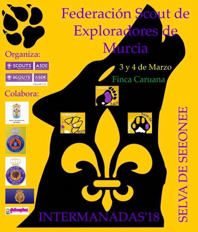 """Vídeo. Unos 700 scouts participan este fin de semana en el encuentro federal """"Intermanadas´2018"""", en la Finca Caruana de Sierra Espuña, organizado por la Federación Scout de Exploradores de Murcia"""
