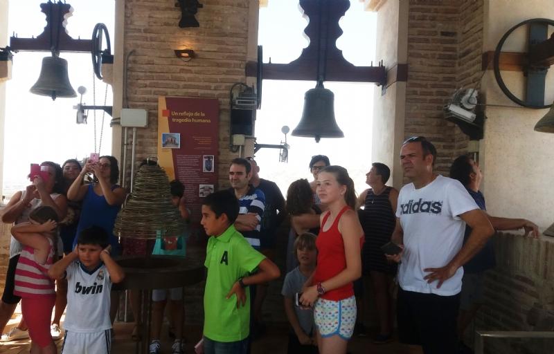 """Totana continúa gestionando, junto con el Instituto de Turismo de la Región, los programas turísticos """"Conoce Totana desde la Torre de Santiago"""" y """"En el corazón de Sierra Espuña, vive la Santa"""""""