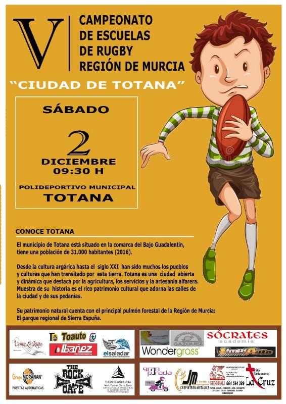"""Vídeo. El V Campeonato de Escuelas de Rugby se celebra este sábado 2 de diciembre, en el Polideportivo Municipal """"6 de Diciembre"""", con la participación de más de 200 deportistas de diez escuelas"""