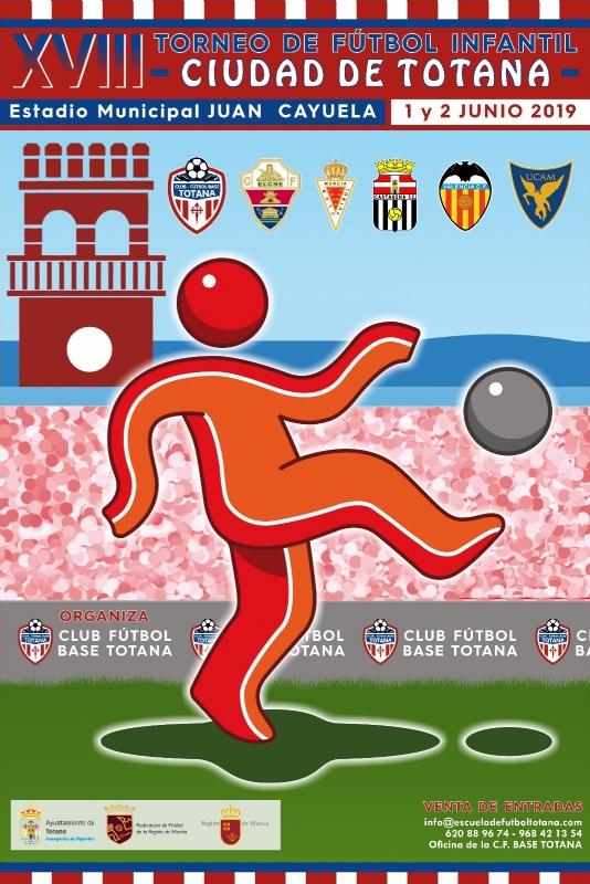 """Vídeo. El XVIII Torneo de Fútbol Infantil """"Ciudad de Totana"""" se disputa este fin de semana en el estadio """"Juan Cayuela"""" con la participación de seis equipos, organizado por el Club Fútbol Base Totana"""