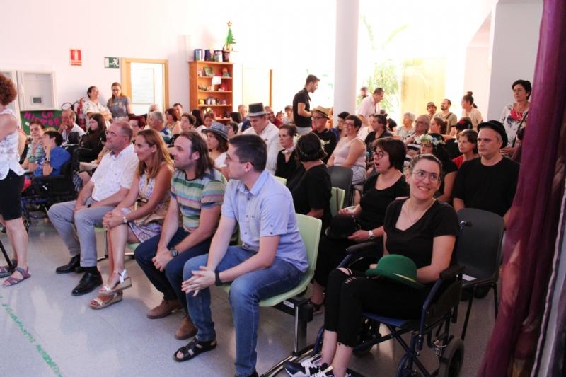 """Se clausura el curso 2018/19 del Centro de Día para Personas con Enfermedad Mental """"Princesa Letizia"""" que cuenta con una veintena de usuarios"""