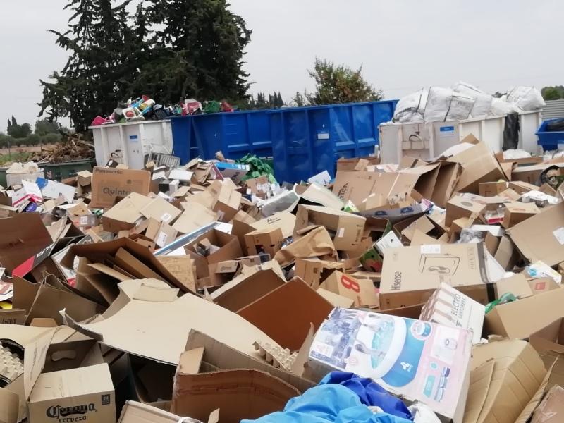 Los escombros de obras menores, los voluminosos, maderas y electrodomésticos son los residuos domésticos más depositados en el ecoparque municipal durante el 2018