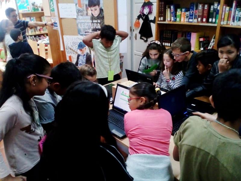 """Más de 2.700 escolares de Infantil y Primaria participan en el programa de Animación a la Lectura """"Viaja con nosotr@s"""", organizado por la Biblioteca Municipal """"Mateo García"""""""