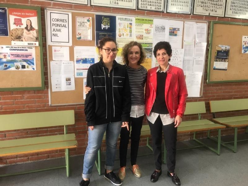 Corresponsales juveniles del IES Juan de la Cierva participaron en este programa de asesoramiento a estudiantes durante el curso 2018/2019