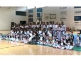 """El Club Taekwondo Totana clausura temporada con una exhibición de sus más de 80 alumnos en el Pabellón de Deportes """"Manolo Ibáñez"""""""