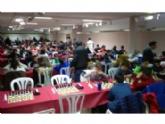 Totana acogió la I Jornada Regional de Ajedrez de Deporte Escolar, organizada por la Dirección General de Deportes y la Concejalía de Deportes, y que contó con la participación de 187 escolares