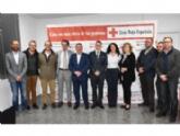 Vídeo. Cruz Roja Española inaugura su nueva sede en Totana, en la que se desarrollarán inicialmente dos proyectos en el ámbito laboral y de seguimiento a familias de acogida