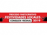 Mañana 4 de julio finaliza el plazo para participar en la consulta vecinal, promovida por la Concejalía de Participación Ciudadana, para elegir las dos festividades locales del año 2019