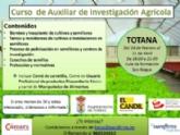 """El Ayuntamiento y el Colectivo """"El Candil"""" organizan un Curso de Auxiliar de Investigación Agrícola en el marco del programa de Garantía Juvenil, del 18 de febrero al 11 de abril"""