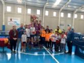 El Colegio La Milagrosa consigue el primer puesto en la Final Regional de Tenis de Mesa de Deporte Escolar, celebrada en Mazarrón