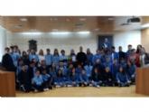 """Alumnos de 2° de la ESO del Colegio """"La Milagrosa"""" presentan a la concejala de Juventud el proyecto #Juvenocio 3.0"""