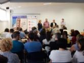 """VÍDEO. Un centenar de personas participan en el taller gratuito """"Plan de Marketing digital. La clave de tu éxito online"""", que ha organizado CECARM con la colaboración del Ayuntamiento de Totana"""
