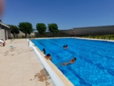 Arranca la nueva temporada de verano en las piscinas municipales del Complejo Deportivo 'Valle del Guadalentín' en la pedanía de El Paretón-Cantareros