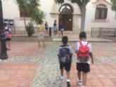 Un total de 3.552 alumnos de Educación Infantil y Primaria comienzan hoy el curso escolar 2018/19 con normalidad en once colegios de Totana