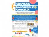 """La Eduteca """"Imperdible Concilia"""" presta servicio desde hoy en el Centro Sociocultural """"La Cárcel"""", con la colaboración de la Concejalía de Juventud"""