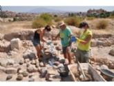 Finalizan los trabajos de mantenimiento y restauración en el yacimiento arqueológico de 'Las Cabezuelas', que promueve la Asociación Kalathos en colaboración con Juventud