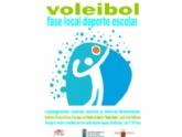 La Concejalía de Deportes organiza este viernes las finales y entrega de trofeos de la Fase Local de Minivoley de Deporte Escolar, en el Pabellón de Deportes 'Manolo Ibáñez'