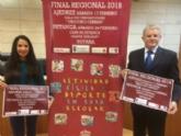 Vídeo. Totana acogerá las finales regionales del programa de Deporte Escolar en las modalidades de Ajedrez (17 febrero) y Petanca (24 de febrero), organizadas por la Dirección General de Deportes