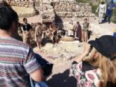 La próxima visita teatralizada al yacimiento de La Bastida de Totana será el sábado 13 de abril, en dos turnos matinales