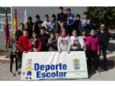 Deportes organizó la Fase Local de Petanca de Deporte Escolar, donde participaron 70 escolares de los diferentes centros de enseñanza de la localidad