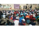 """Autoridades municipales asisten al acto de clausura de la XII Semana de la Salud que ha organizado el CEIP """"La Cruz"""" de Totana"""
