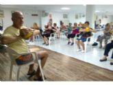 Comienza el programa de 'Gimnasia para Personas Mayores', organizado por la Concejalía de Deportes, en el Centro Municipal de Personas Mayores