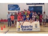 El Colegio Santa Eulalia consigue el primer puesto en la Fase Local de Minivoley de Deporte Escolar, organizada por la Concejalía de Deportes