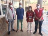Cruz Roja y la UMU promueven la incorporación  de universitarios al programa 'Apoyo Escolar de Cruz Roja Totana', que pretende contribuir a cubrir necesidades socioeducativas de niños de esta localidad