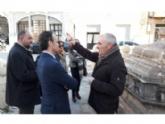 El consejero de Turismo y Cultura visita la Fuente Juan de Uzeta antes de comenzar las obras de recuperación de esta emblemática infraestructura arquitectónica