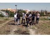 Continúa el programa formativo profesional en 'Actividades Auxiliares de Viveros y Jardines' que promueve 'El Candil' mediante la construcción de un huerto urbano