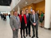 El alcalde asiste en Fitur a la muestra de los resultados del Observatorio de Ecoturismo y del III Congreso Nacional de Ecoturismo, y a las presentaciones de destinos del Día de la Región de Murcia