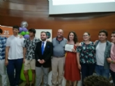 Autoridades municipales asisten al XXV Aniversario de la Federación Murciana de Asociaciones de Estudiantes (Femae) en una gala que se celebró en el edificio Moneo