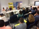 """Vídeo. Totana acoge el I Foro Comarcal de Inclusión Sociolaboral organizado por el Colectivo para la Promoción Social """"El Candil"""" en el Vivero de Empresas"""