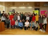 """Vídeo. Más de medio centenar de jóvenes comienzan el Encuentro """"SuperEstudiantes´2018"""" con una recepción institucional en el Ayuntamiento de Totana"""