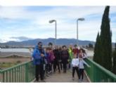 Un total de 17 personas participan en la Ruta Senderista de Navidad,  organizada por la Concejalía de Deportes en la Presa de El Paretón y alrededores