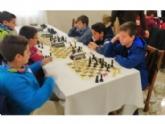 Los centros de enseñanza Santiago, Reina Sofía e IES Prado Mayor participaron en la 1ª Jornada Regional de Ajedrez de Deporte Escolar, celebrada en Sangonera La Seca