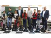 """Educación concede el programa educativo """"Ajedrez en el Aula"""" a 25 centros educativos de la Región, entre los que se encuentran los colegios públicos """"Santiago"""" y """"La Cruz"""" de Totana"""
