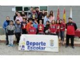 La Concejalía de Deportes organizó la Fase Local de Petanca del programa de Deporte Escolar en las instalaciones del Club Petanca Santa Eulalia