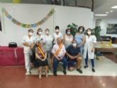 Realizan la coronación del rey y reina en los Centros de Día para Mayores Dependientes de la plaza Balsa Vieja y SEDA-Alzheimer