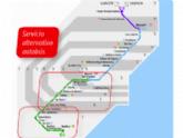 Se establecen, a partir de mañana 1 de octubre, horarios alternativos de autobús al cierre de la línea ferroviaria Murcia-Lorca-Águilas por las obras de ADIF