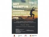El próximo 25 de septiembre finaliza el plazo para el Curso de Monitor de Ocio y Tiempo Libre, organizado por la Dirección General y la Concejalía de Juventud, con una duración de 250 horas