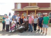 Los Centros de Día para la Discapacidad del Ayuntamiento de Totana reanudan el Taller de Jardinería después de las vacaciones veraniegas