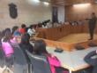 Comienzan las visitas escolares al Ayuntamiento de Totana con el fin de dar a conocer el funcionamiento de los servicios y las dependencias del Consistorio a alumnos de Educación Primaria - Foto 4