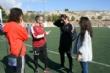 """Vídeo. Cerca de 450 alumnos de quinto curso de diez colegios de Totana participan en la Jornada de Juegos Populares en la Ciudad Deportiva """"Valverde Reina"""" - Foto 4"""