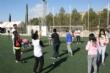 """Vídeo. Cerca de 450 alumnos de quinto curso de diez colegios de Totana participan en la Jornada de Juegos Populares en la Ciudad Deportiva """"Valverde Reina"""" - Foto 7"""