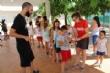 """Vídeo. Casi un centenar de participantes se dan cita en las Escuelas Municipales de Verano en los colegios """"La Cruz"""" y """"Santiago"""" - Foto 14"""