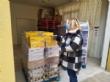El concejal de Bienestar Social visita el Banco de Alimentos del Segura para trasladar la comida que correspondía a Cáritas de las Tres Avemarías - Foto 3