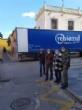 El concejal de Bienestar Social visita el Banco de Alimentos del Segura para trasladar la comida que correspondía a Cáritas de las Tres Avemarías - Foto 7
