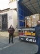 El concejal de Bienestar Social visita el Banco de Alimentos del Segura para trasladar la comida que correspondía a Cáritas de las Tres Avemarías - Foto 11