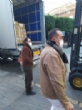 El concejal de Bienestar Social visita el Banco de Alimentos del Segura para trasladar la comida que correspondía a Cáritas de las Tres Avemarías - Foto 13